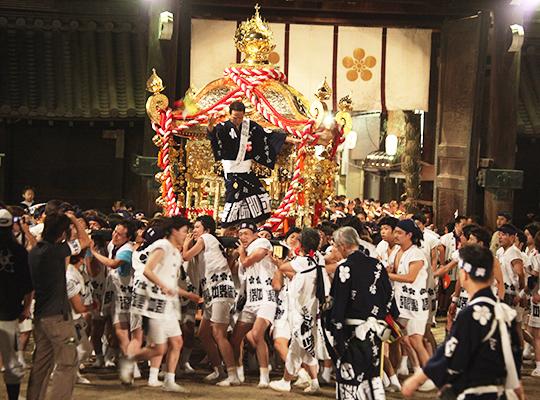 天神祭   大阪天満宮